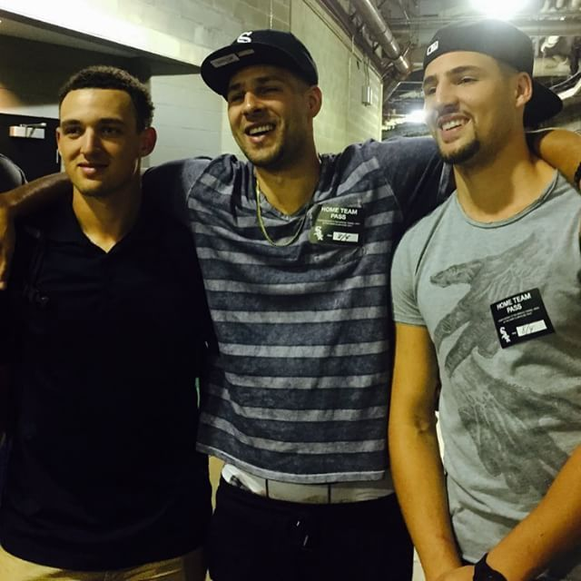 Trayce, Mychal, and Klay Thompson