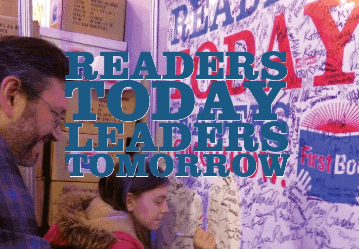 Readers become leaders. First Book has distributed more than 90 million books and educational resources to programs and schools serving children from low-income families throughout the United States and Canada. Great cause!