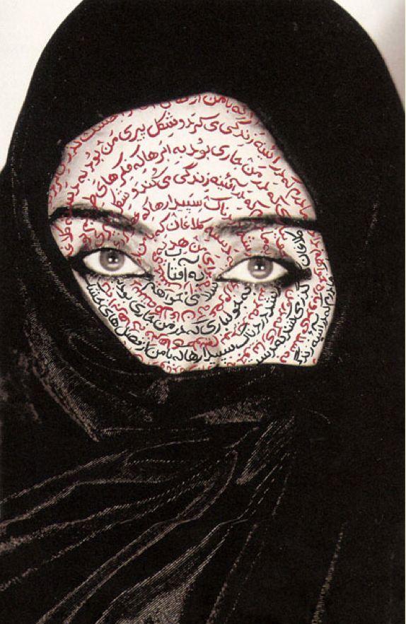 SHIRIN NESHAT (IRAN) - I Am Its Secret, 1993