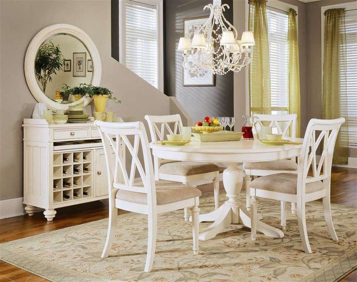 10 Best Dining Table Images On Pinterest  Round Dining Tables Inspiration White Oval Dining Room Table Decorating Design
