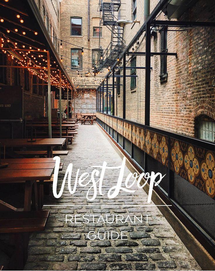 Chicago restaurant guide - the best restaurants in Chicago, focusing on the West Loop, Randolph Street, Fulton Market neighborhood.