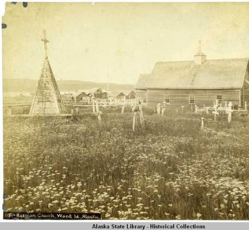 Russian Church, Wood Id., Alaska :: Alaska State Library-Historical Collections