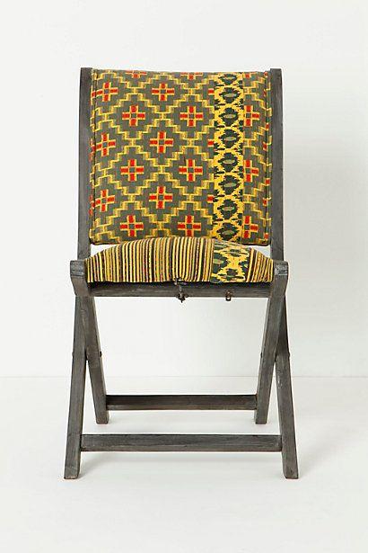 Overdyed Terai Chair, Citrine #anthropologie
