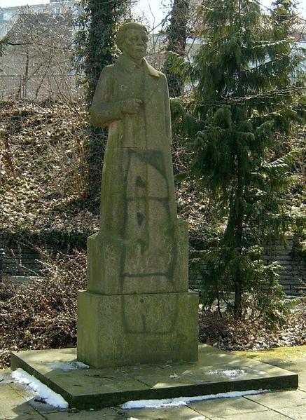 Denkmal von Erich Weinert in Frankfurt (Oder).