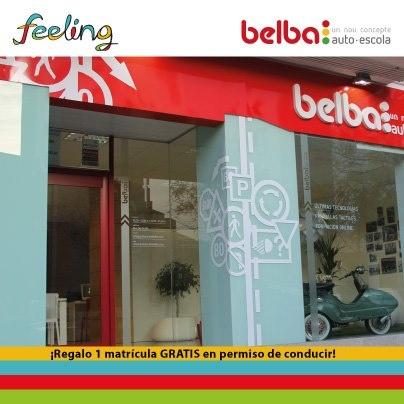 El día 10 de mayo Feeling sorteará una matrícula gratis para el carnet de conducir en la autoescuela Belba de Castellón.Para participar entra aquí: https://www.facebook.com/FeelingCastellon