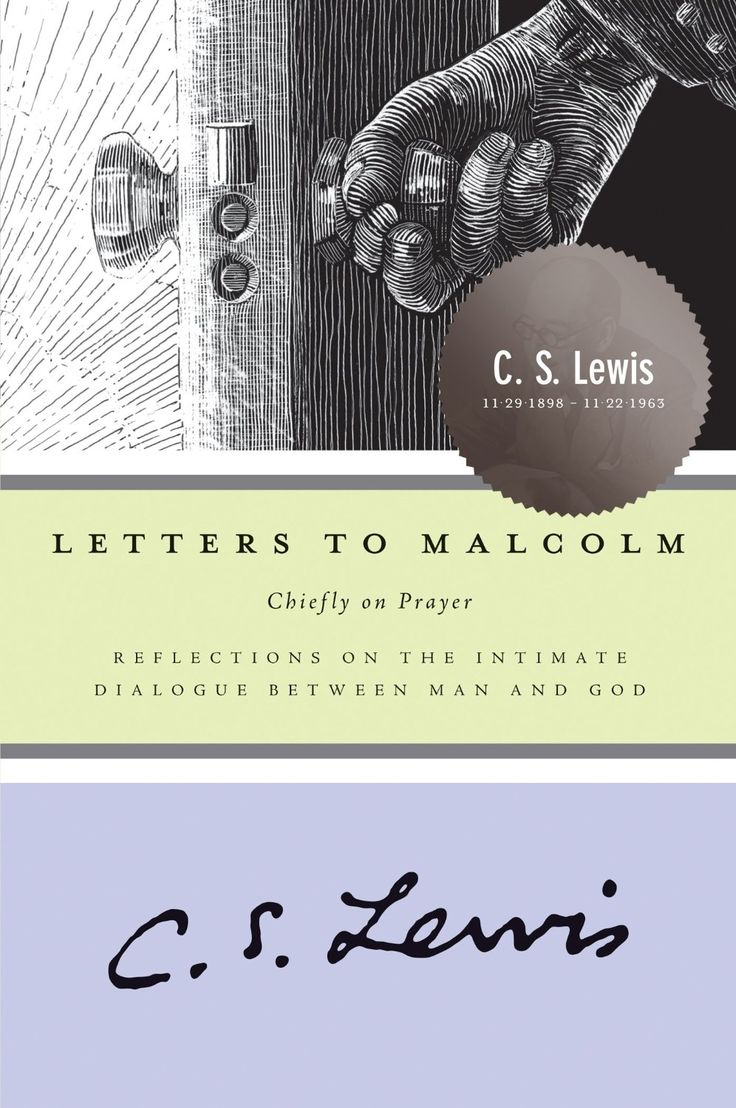 Letters to malcolm chiefly on prayer by c s lewis should read this amazon kindle