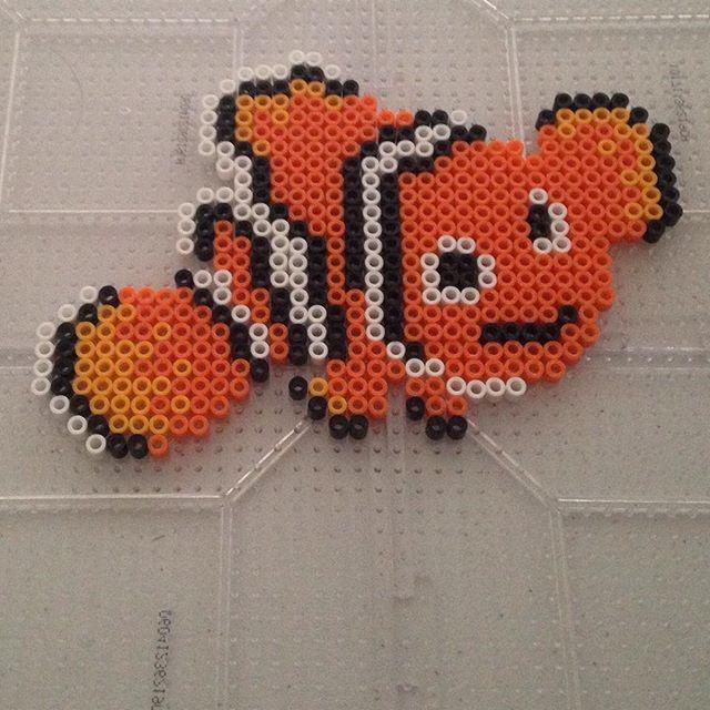 Nemo perler beads by  perlerartfanatic