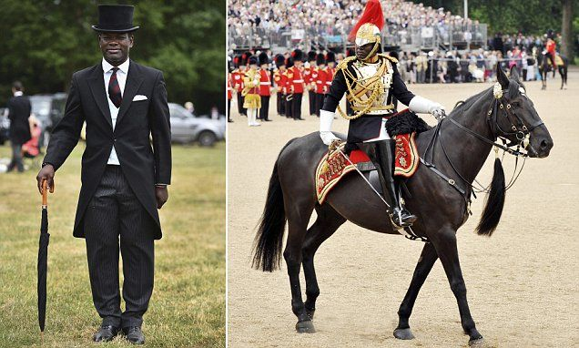 The Queen picks the first black equerry to assist her in public duties
