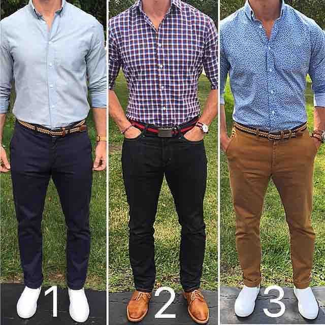 3 looks from @chrismehan which do you prefer? | HoClo + Menswear | Pinterest | Clothes Menu0026#39;s ...