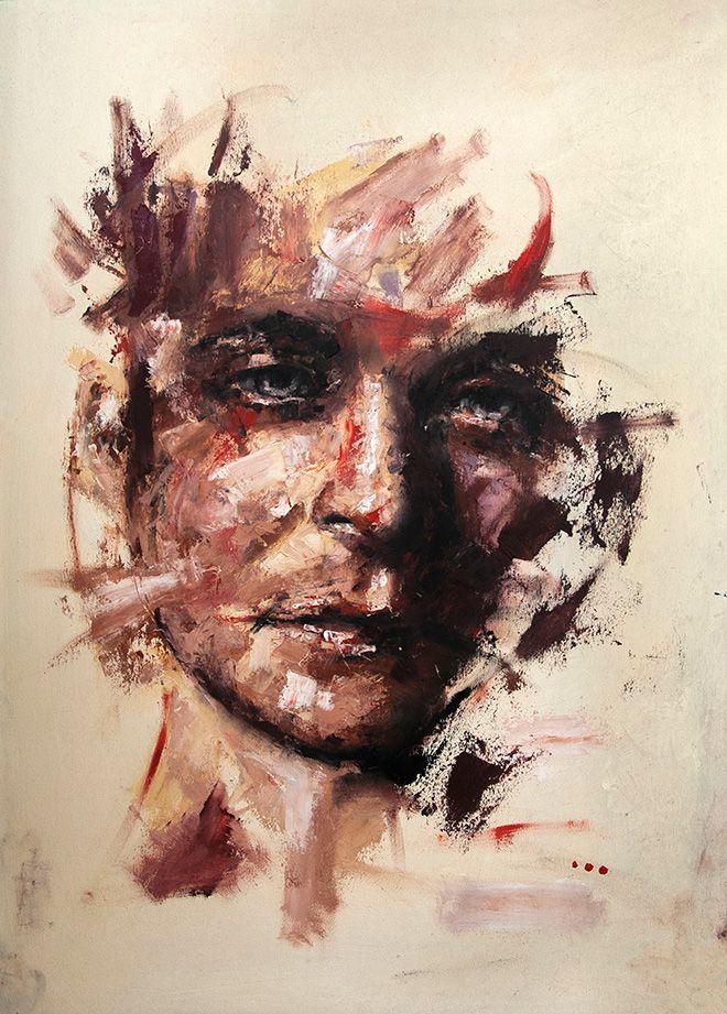 Davide Cambria, Prima della rivoluzione, Oil on wood | 50x70CM, Private collection (Germany)