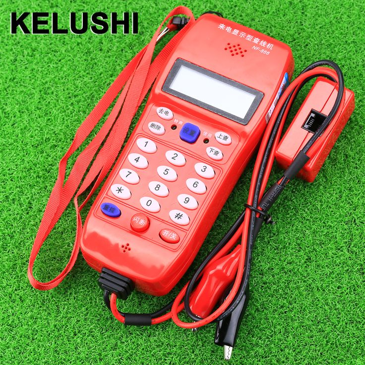 KELUSHI NF-866 Telephone Phone Butt Test Tester Lineman Tool Cable Set Professional Device #Affiliate