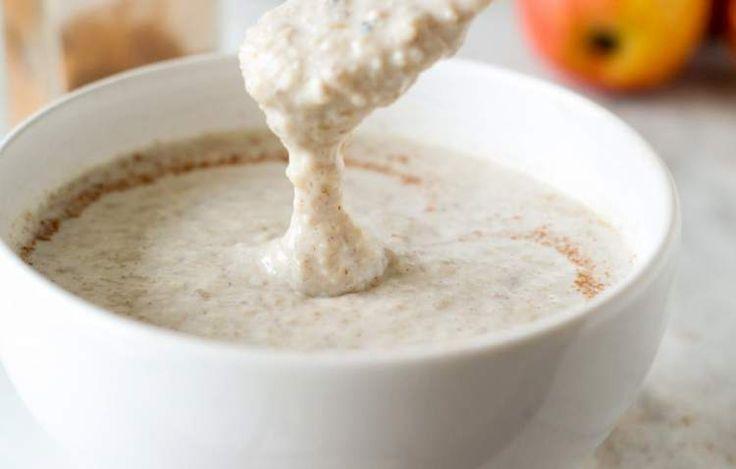 mingau de aveia é um dos alimentos que deixam o estômago cheio por mais tempo