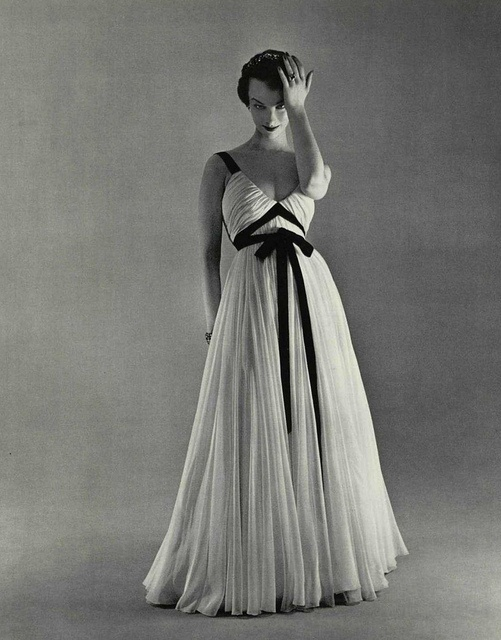 ~Jacques Griffe, Evening Gown 1953~