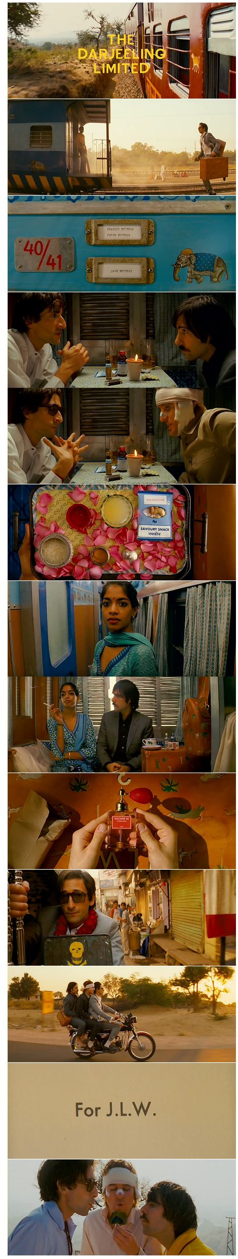 The Darjeeling Limited - Makes me want to go to India.