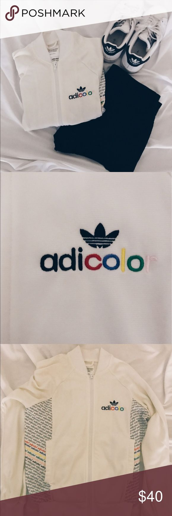 Adidas Adicolor Track Jacket Very lightly worn. Limited edition w5 Adicolor White Series Adidas Jackets & Coats