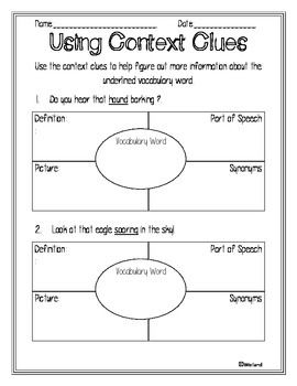 VOCABULARY DETECTIVE: VOCABULARY INTERVENTIONS - TeachersPayTeachers.com $2.00-17 pages of interventions to help teach vocabulary with common core