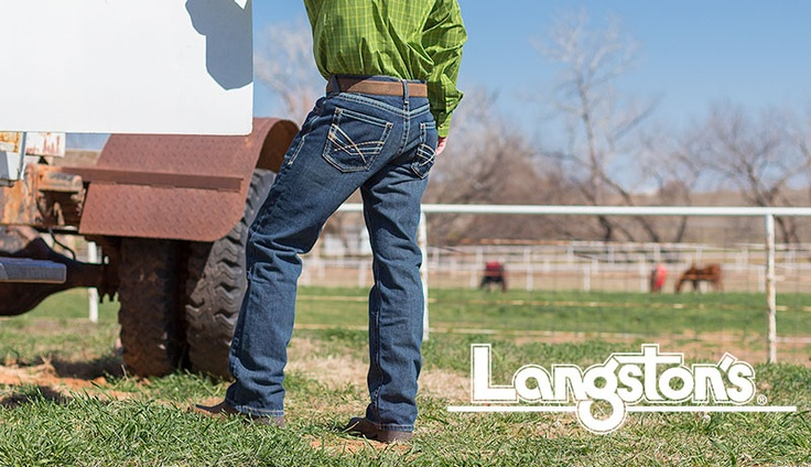 Enter 2 win a pair of Ariat Jeans from Langstons!