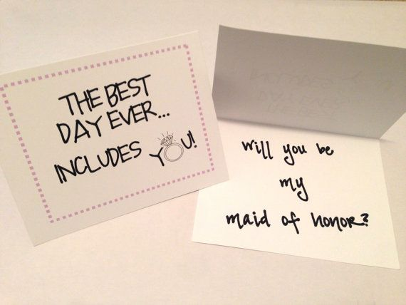How To Be The Best Maid Of Honor: The Best Day Ever Includes You! Will You Be My Maid