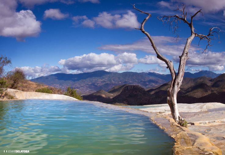 Hot Spring Hierve el agua, Oaxaca #josafatdelatoba #cabophotographer #hierveelagua #landscapephotography #mexico #hotspring #oaxaca