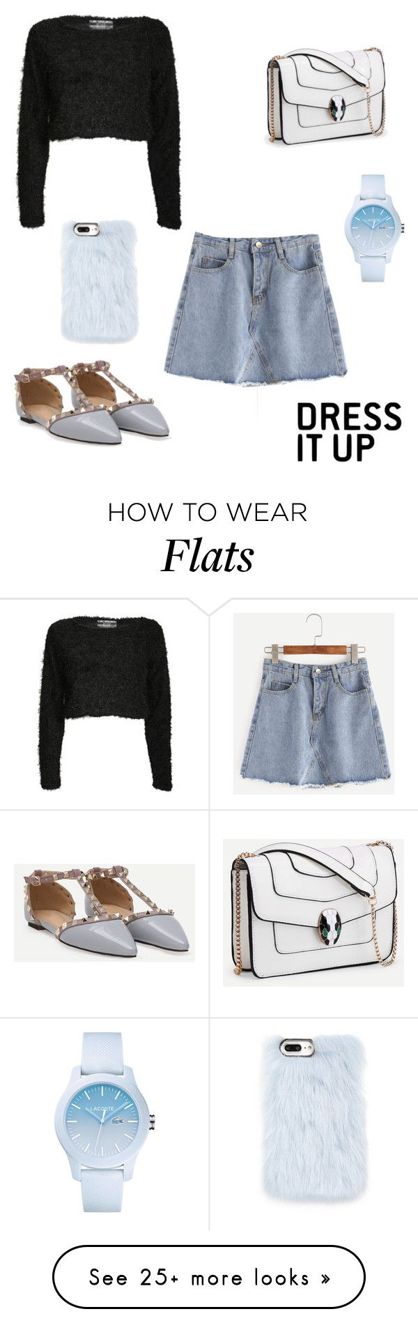 """""""dress it up"""" by tguedes on Polyvore featuring Pilot, Skinnydip and Lacoste"""