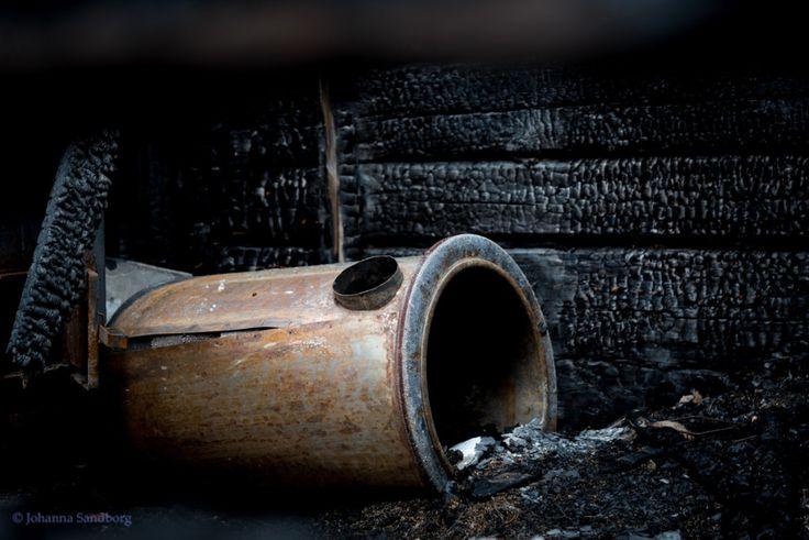 Burnt sauna