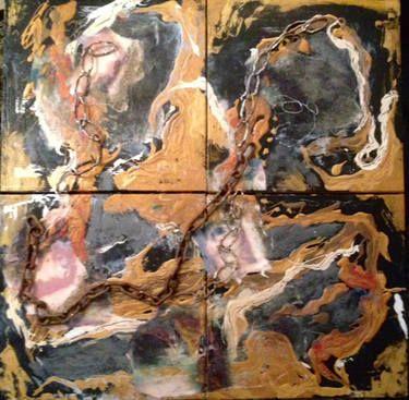 """Saatchi Art Artist Eileen Miller; Painting, """"No Way Out!"""" #art"""