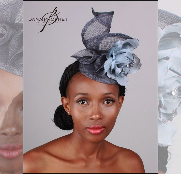 Blue Flower Sinamay Fascinator. Lovely, twirling, feminine shape accented by sinamay lilies and a large flower.   https://www.facebook.com/commerce/products/1693992027278458/  #hat #fascinator #races #durbanjuly #horse #horserace #royal #sinamay #celebrations #weddings #bridal #veil #bridesmaids #flowers #derbyhat #pillbox #headpiece #melbournecup #royalascot #derbyday #Oaksday #accessories #danaprophetaccessories #Lily #blue #southafrica