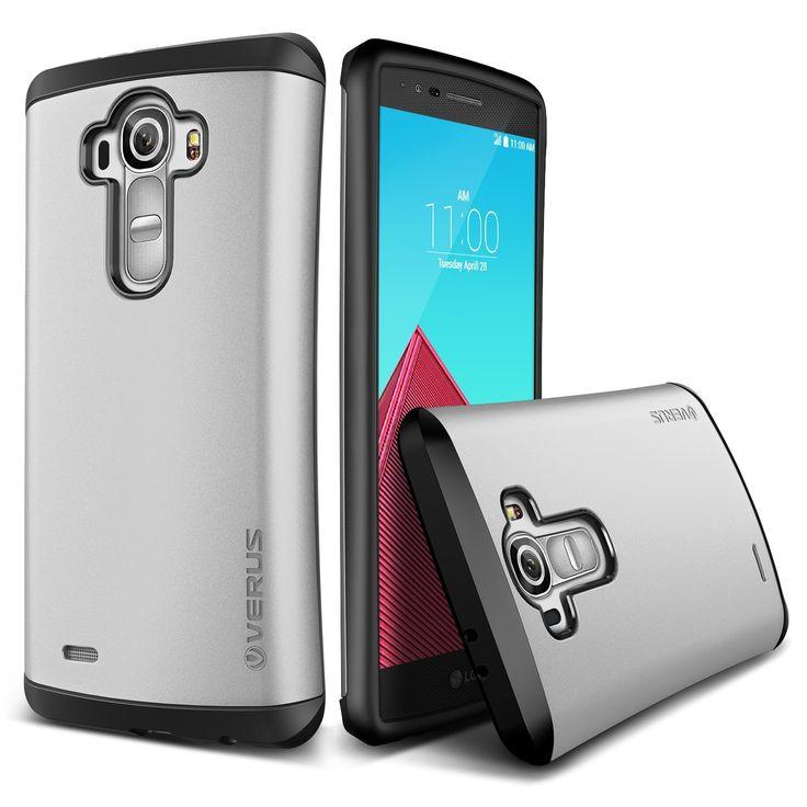 Verus LG G4 Case Thor Series - Satin Silver