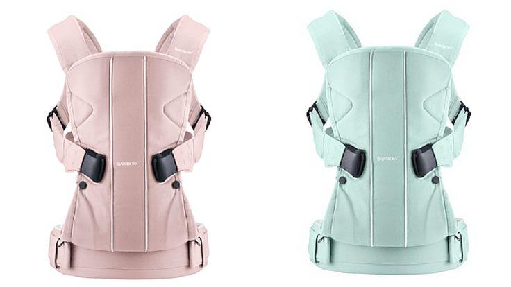Sorteamos una mochila portabebés BabyBjörn ONE edición limita Ice Cream Collection.