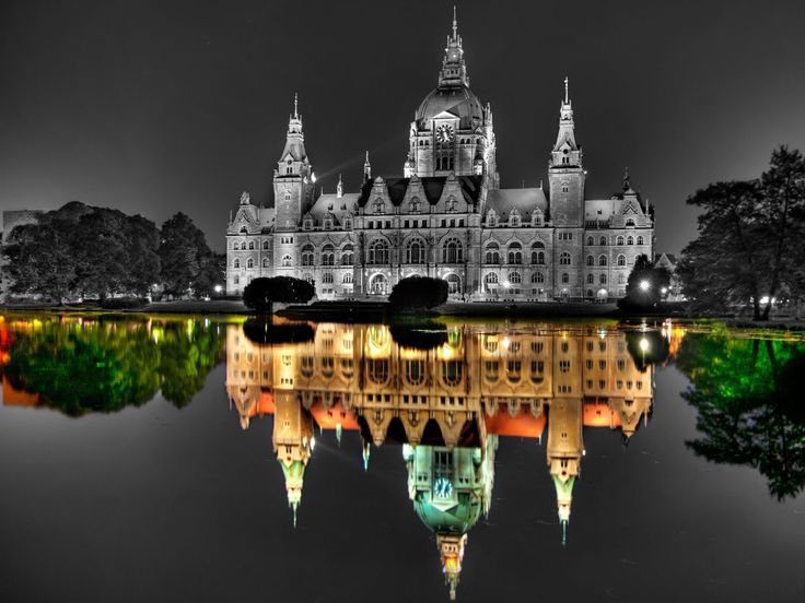Palace Selective Coloring Reflection