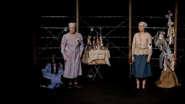 """""""Une opérette à Ravensbrück"""" d'après Germaine Tillion © Théâtre Biolopin (capture d'écran)"""