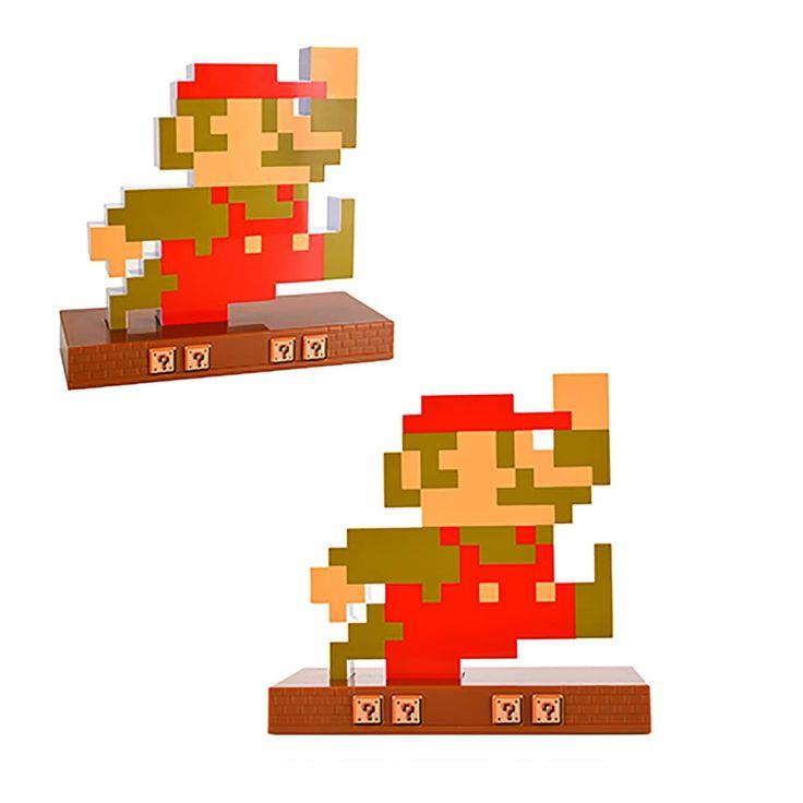 Nintendo Novelty Super Mario Retro Alarm Clock Mario, Red
