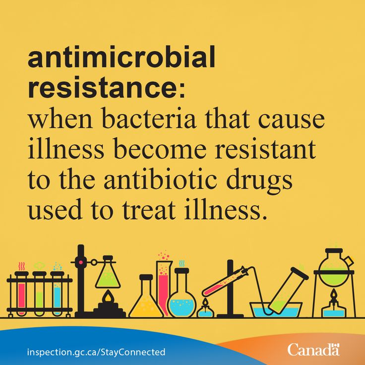 Antimicrobial resistance is an important public health issue. Learn more: http://healthycanadians.gc.ca/drugs-products-medicaments-produits/buying-using-achat-utilisation/antibiotic-resistance-antibiotique/about-apropos-eng.php