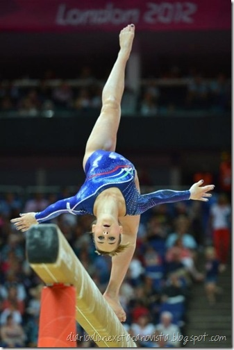 Carlotta Ferlito for Feminine Italian Gymnatics-Artistic Team at London Olympics 2012