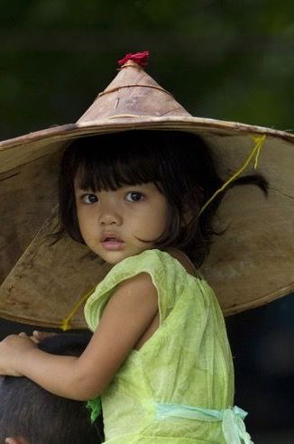 Girl from Myanmar