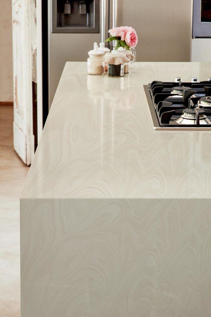 White Onyx Corian Worktops Corian Kitchen Countertops White