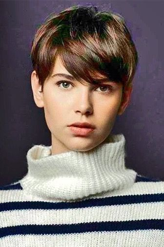Love this longer pixie cut. Yes!