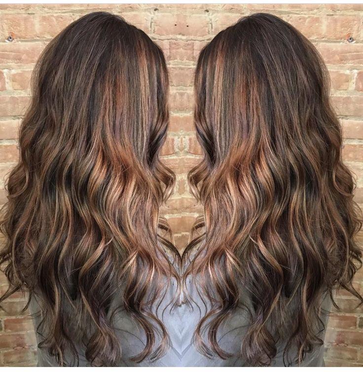 #caramelbalayage #ombre #brownbalayage #longhair #curlyhair