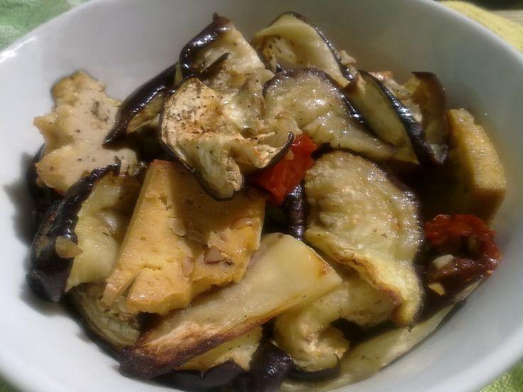 Oven-Roasted Eggplant and Tofu / Munakoiso-tofupaistos (vegan, gluten-free / vegaaninen, gluteeniton)
