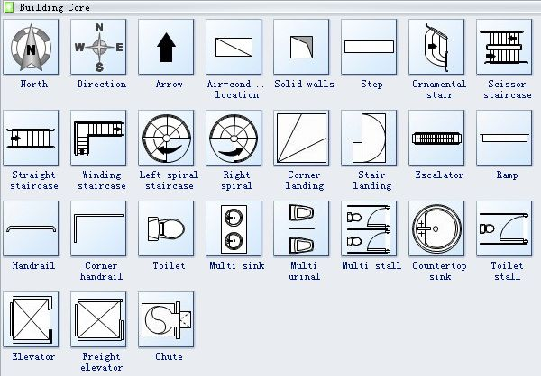 36 best images about architectural drawings on pinterest for Architectural floor plan symbols