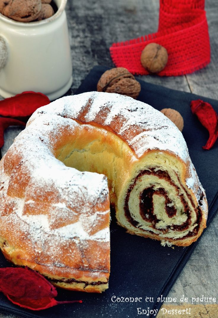 Hazelnut chocolate swirl bread.