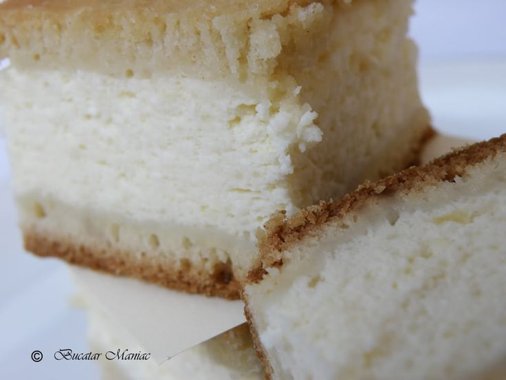 prajitura cu branza dulce