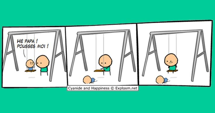 Il y a bien longtemps déjà, Cyanide & Happiness figurait dans notre classement des web comics les plus drôles du monde (et de l'univers), depuis des gens que l'on remercie chaleureusement ont eu l'idé