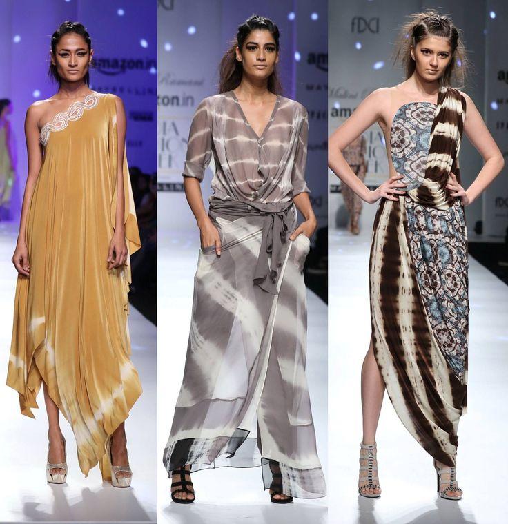 Beach party-ready ensembles courtesy Malini Ramani #SS16 #fashion #trends #aifw