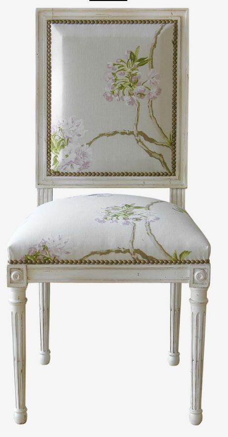 17 mejores ideas sobre sillas doradas en pinterest - Silla estilo luis xvi ...