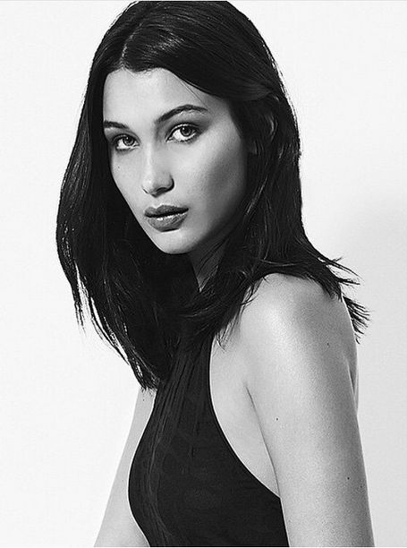 Bella Hadid Black And White Instagram Inspiration Board