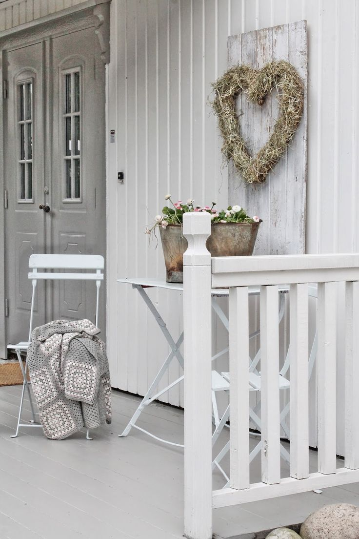 Decoratie idee veranda