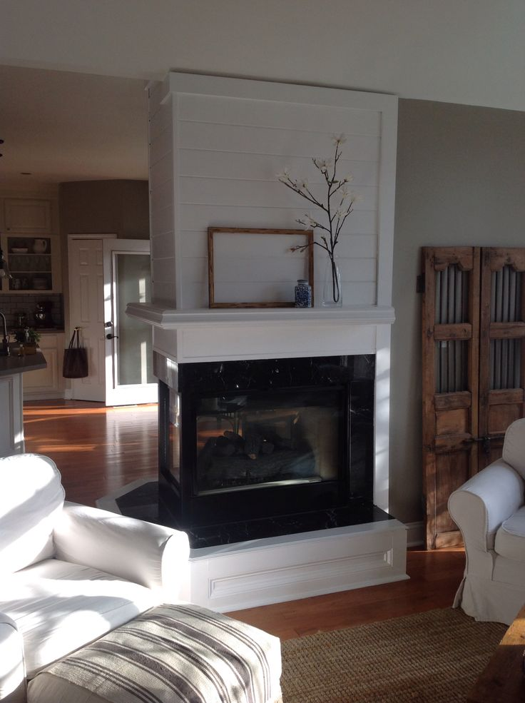 Ethanol Fireplace With Mantle Best 25+ 3 Sided Fireplace Ideas On Pinterest | Modern