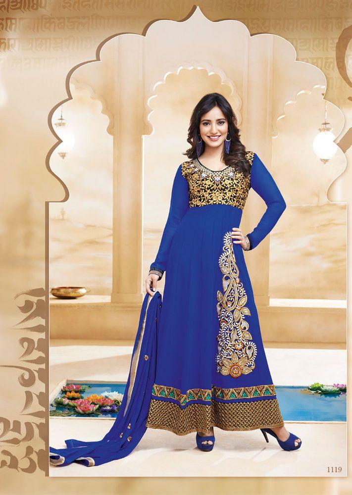 INdian bluse Georgette salwar kameez Dress for party
