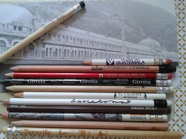 A pie de aula: Lápices